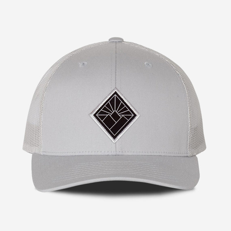 Black Diamond Hat - Silver