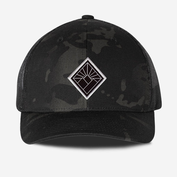 Black Diamond Hat - Black Camo