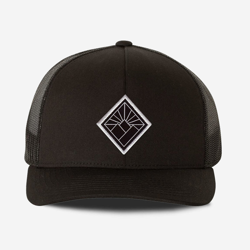 Black Diamond Hat - Black