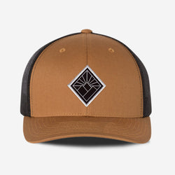 Black Diamond Hat - Camel Black
