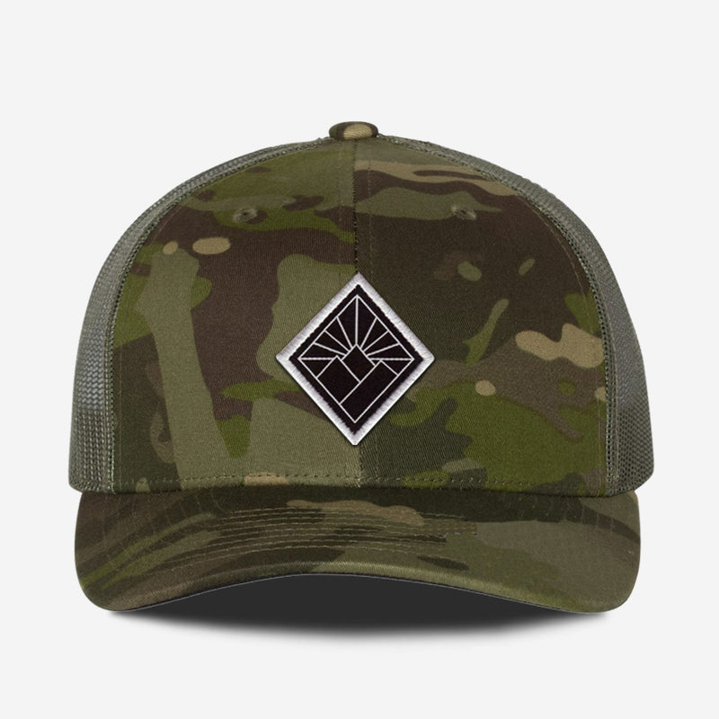 Black Diamond Hat - Green Camo