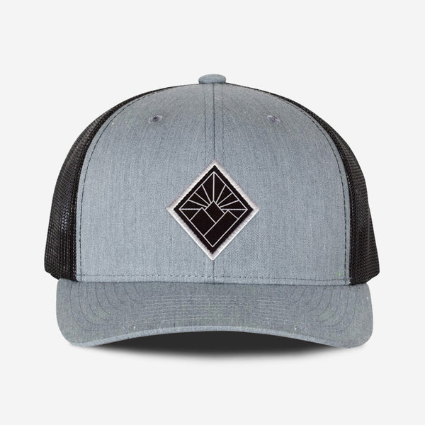 Black Diamond Hat - Grey Black