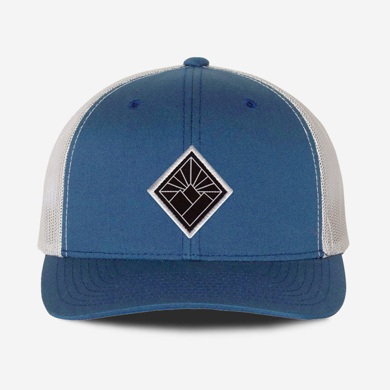 Black Diamond Hat - Steel Silver