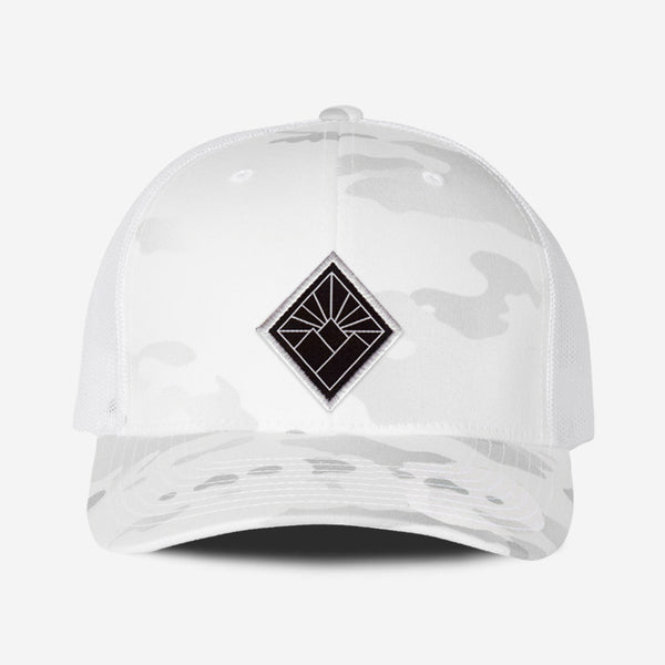 Black Diamond Hat - White Camo