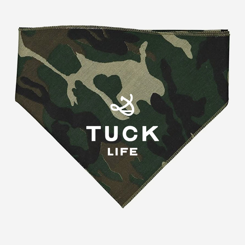 Tuck Life Bandana for pups or people!