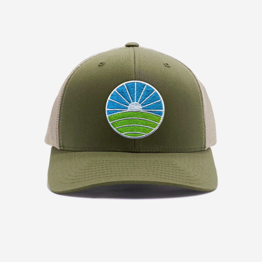 Golf Trucker Hat - Green