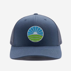 Golf Trucker Hat - Navy