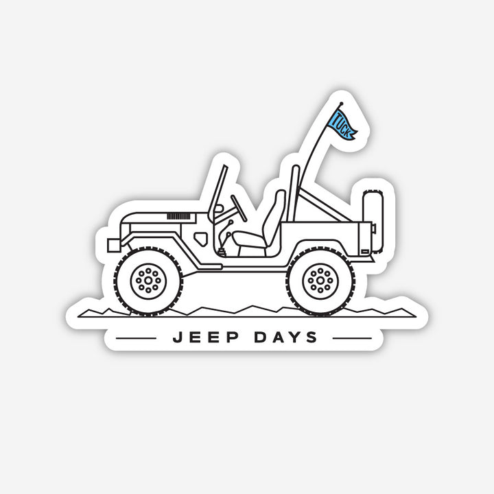 Jeep Days Sticker