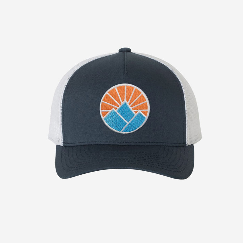 Sun Mountain Trucker Hat - Navy White