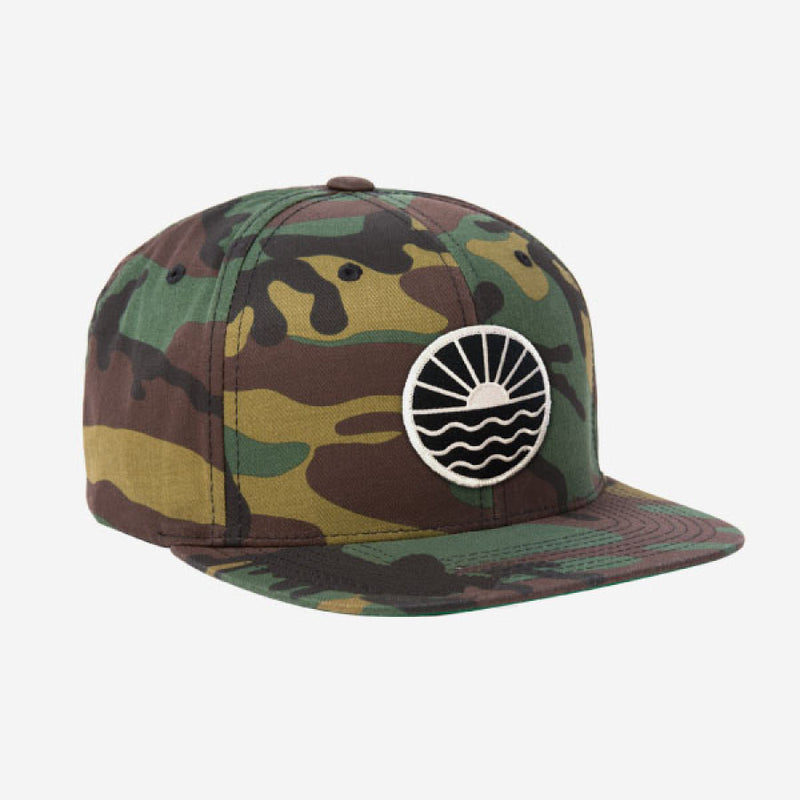 Sun Wave Flat Brim Hat