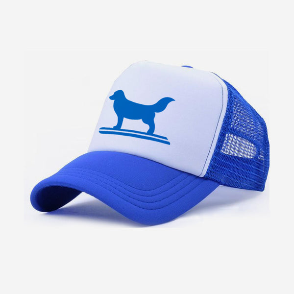 Surf Dog Trucker Hat For Adults