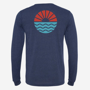 Sun/Wave Long Sleeve T-Shirt