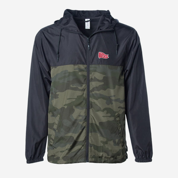 Lightweight Windbreaker Zipper Jacket