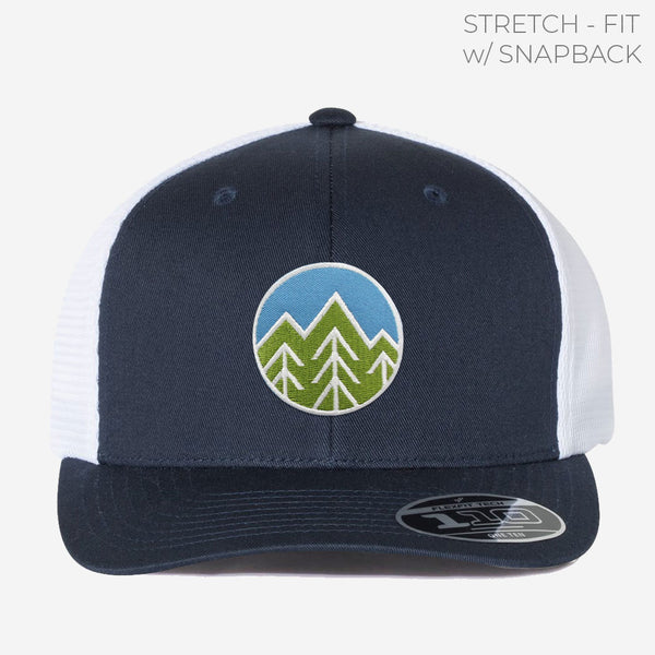 Sky Trees Trucker w/ Stretch