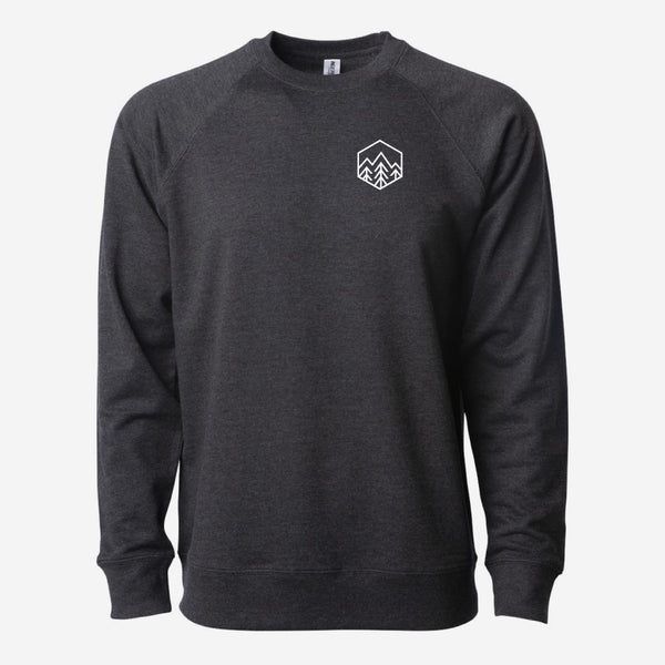 Sky Trees Crewneck Lightweight Sweatshirt
