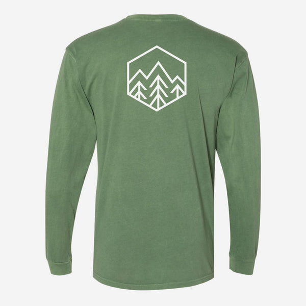 Sky Trees Long Sleeve T-Shirt