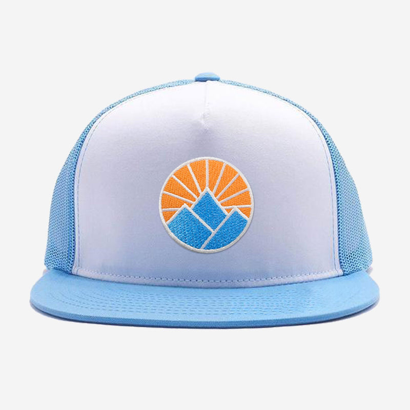 Sun Mountain Flat Brim Trucker Hat