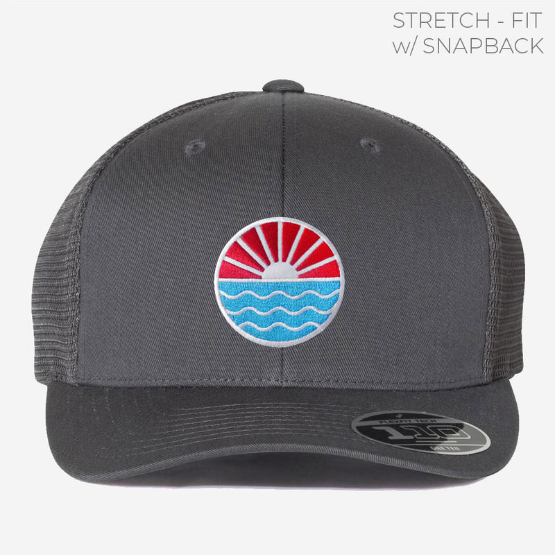 Sun Wave Trucker w/ Stretch