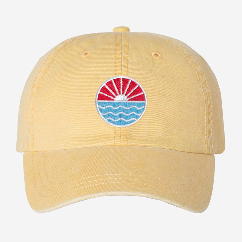 Sun Wave Unstructured Dad Hat
