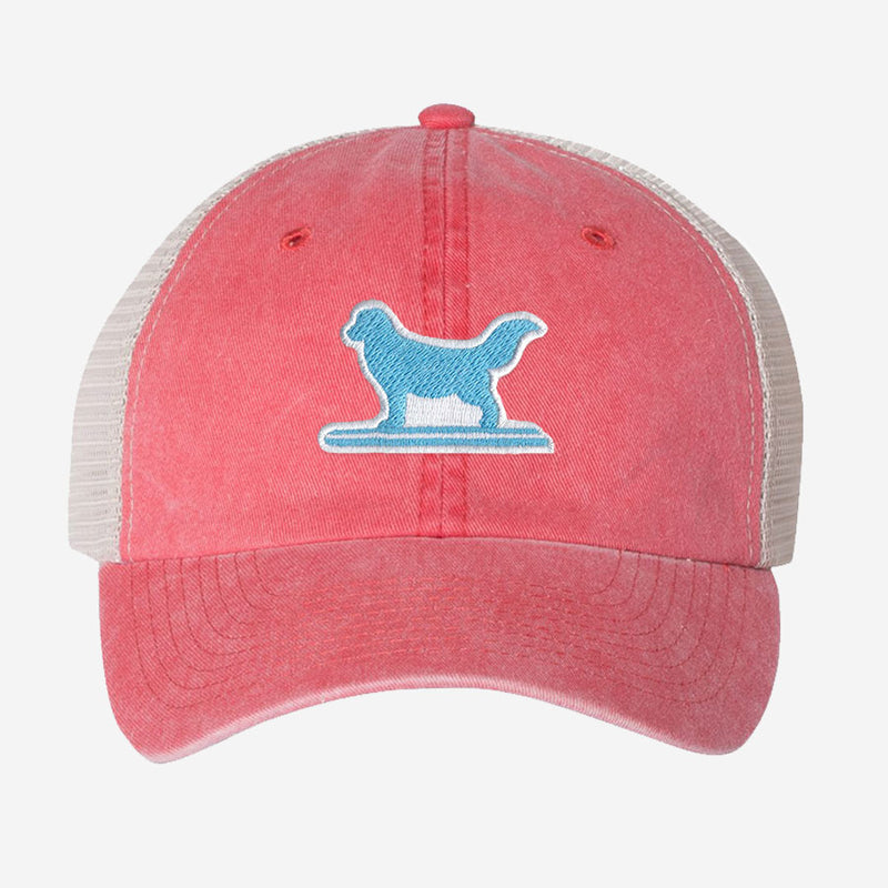 Surf Dog Unstructured Trucker Hat