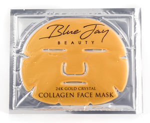 24k Gold Collagen Facial Face Mask for collagen renewal,anti-aging and facial treatment  (single )