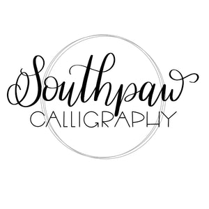 Southpaw Calligraphy
