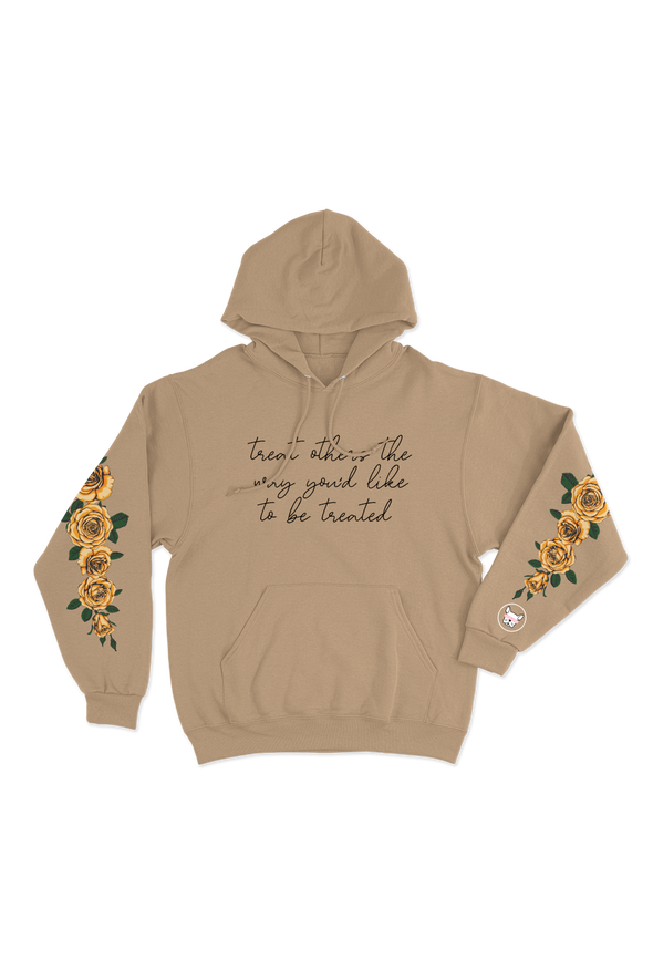 ADELAINE MORIN TREAT OTHERS HOW YOU'D LIKE TO BE TREATED HOODIE