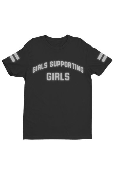 Adelaine Reflective Girls Supporting Girls Shirt