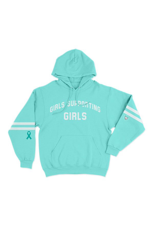 💙Adelaine Morin Ovarian Cancer Awareness Hoodie 💙
