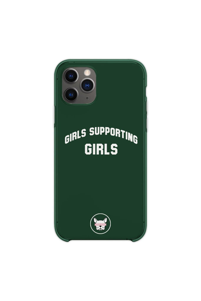 "Adelaine Morin 'Girls Supporting Girls"" Forest Green Phone Case"