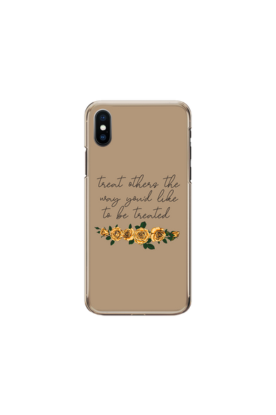 ADELAINE MORIN TREAT OTHERS HOW YOU'D LIKE TO BE TREATED PHONE CASE