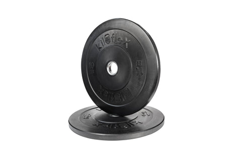 ELITE Black Bumper Plates 10lb (Pair)