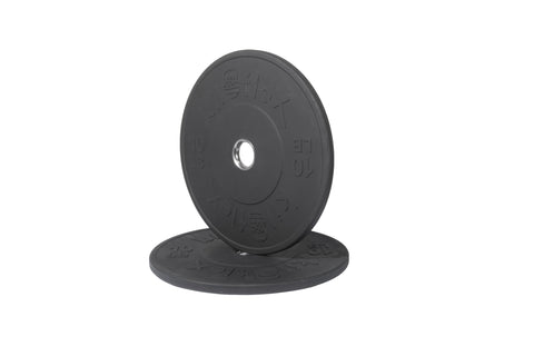 HP Black Bumper Plates 10lb Pair