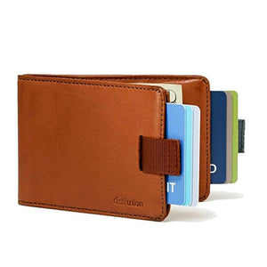 BUY 2 FREE SHIPPING--12 Cards & 30 Bills - Slim Pull-out Wallet