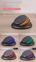 Innovative design Wireless Charging Station Compatible ,Folding lamp