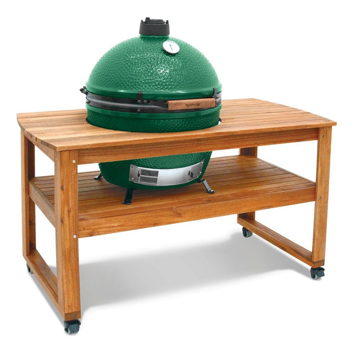 Big Green Egg table en bois acacia pour œuf XL