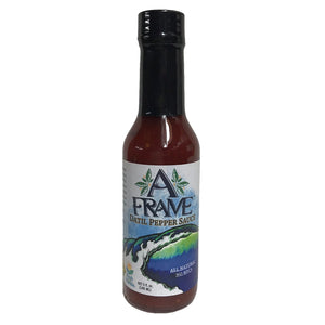 A Frame Datil pepper sauce