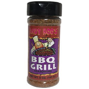 Andy Roo's BBQ grill seasoning