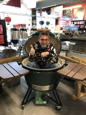 Big Green Egg Xxl Avec Nid Et Tablette En Composite