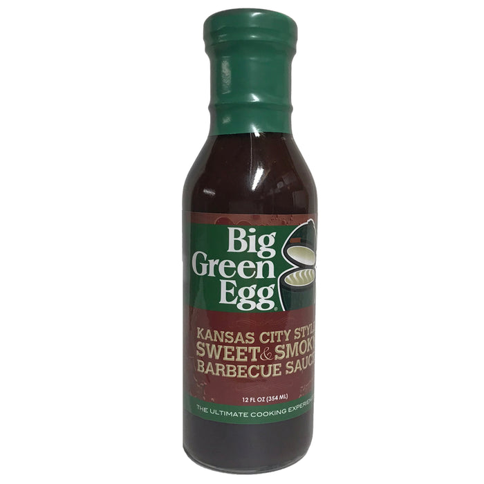 Big Green Egg sauce Kansas City style sweet and smoky