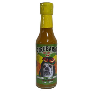Firebarns sauce Jamaican scotch bonnet