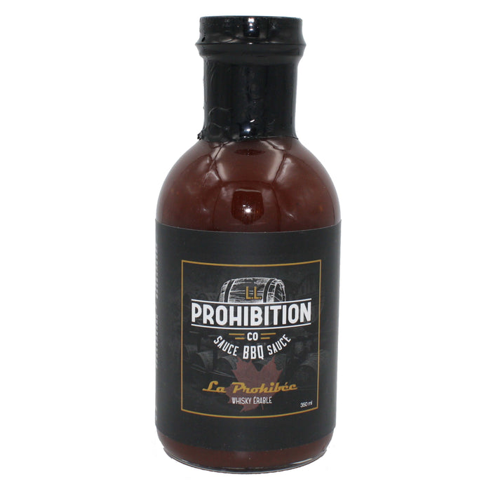 L.L. Prohibition sauce BBQ La Prohibée Whisky érable