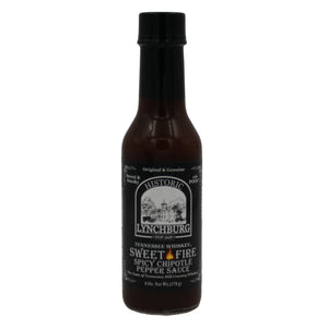 Lynchburg sweet fire spicy chipotle pepper sauce