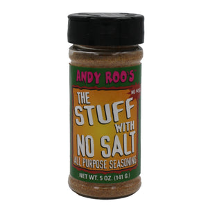 Andy Roo's the stuff with no salt
