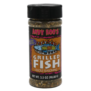 Andy Roo's grilled fish creole seasoning