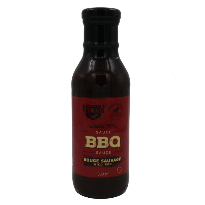 Pat BBQ sauce rouge sauvage