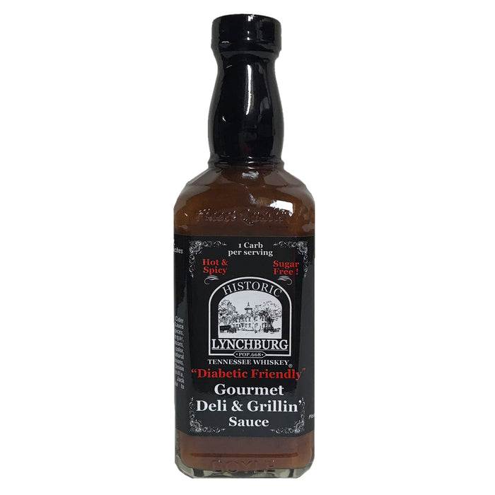 Lynchburg diabetic friendly gourmet deli & grillin'sauce hot