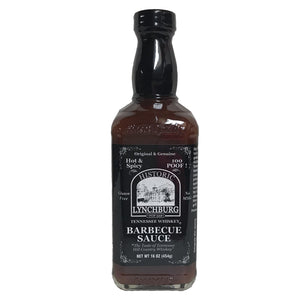 Lynchburg barbecue sauce hot & spicy