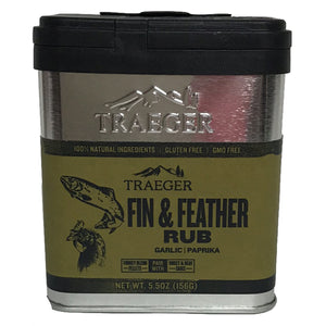 Traeger épices fin and feather rub