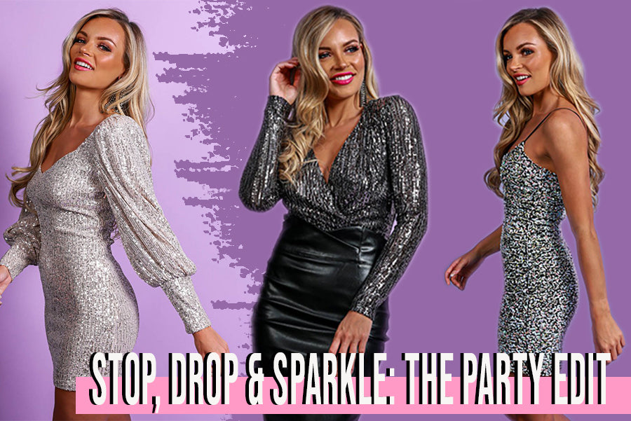 Stop, Drop & Sparkle: The Party Edit